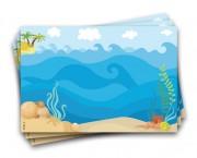רקע ים – מצויר