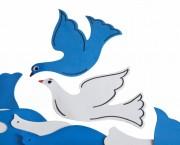 יונים סול כחול לבן