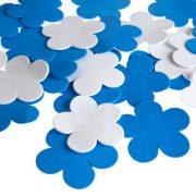 פרח סול כחול לבן – גדול