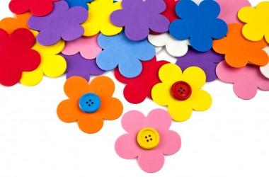 פרח בינוני