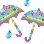מטרייה בגשם