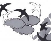 עננים וסנוניות