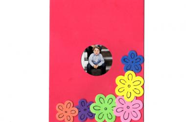 כרטיס מעוצב פרח 1
