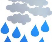 חיתוכי מפל עננים וטיפות