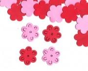 פרח בינוני אדום ורוד