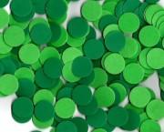 """עיגול סול קוטר 2.5 ס""""מ – גווני ירוק"""