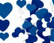 לבבות כחול לבן