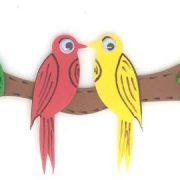 ציפור ישראלית על ענף