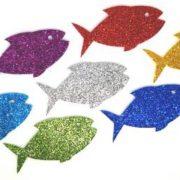 להקת דגים גדול – נוצץ
