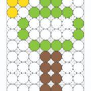 צורה וצבע – עץ עיגולים